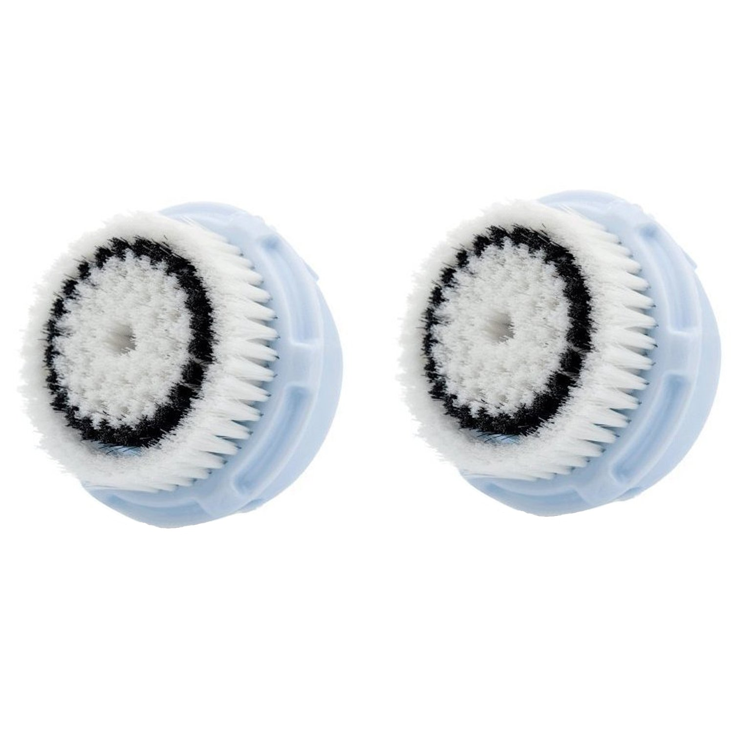 LSQtronics Delicate Facial Brush Heads for Clarisonic. Face Cleansing Brush Heads for Daily Skin Care. Compatible with Clarisonic MIA, MIA 2, ARIA, PRO and PLUS Cleansing Systems. (2-Pack Delicate Brush Head)