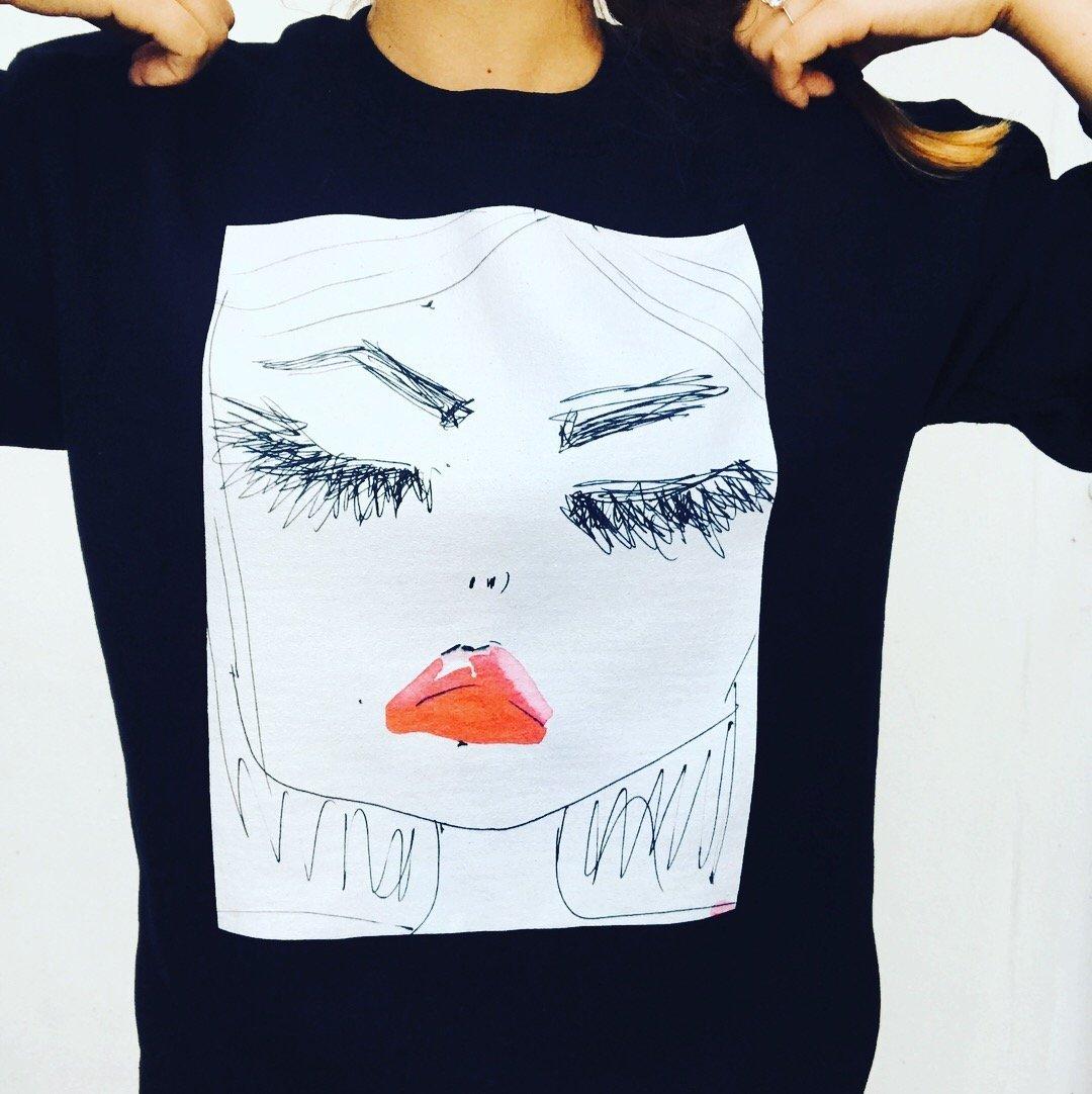 fashion unisex designer sweatshirt by Miss Frais