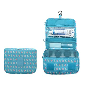 d846f2d2bb 2018 New Hanging Toiletry Bag Bathroom Organizer Travel Nylon Portable Cosmetic  Bag for Women and Men