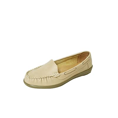 Moccasin Loafers for Women Casual Comfort Flats Walking Shoes (Vivi-01) | Loafers & Slip-Ons