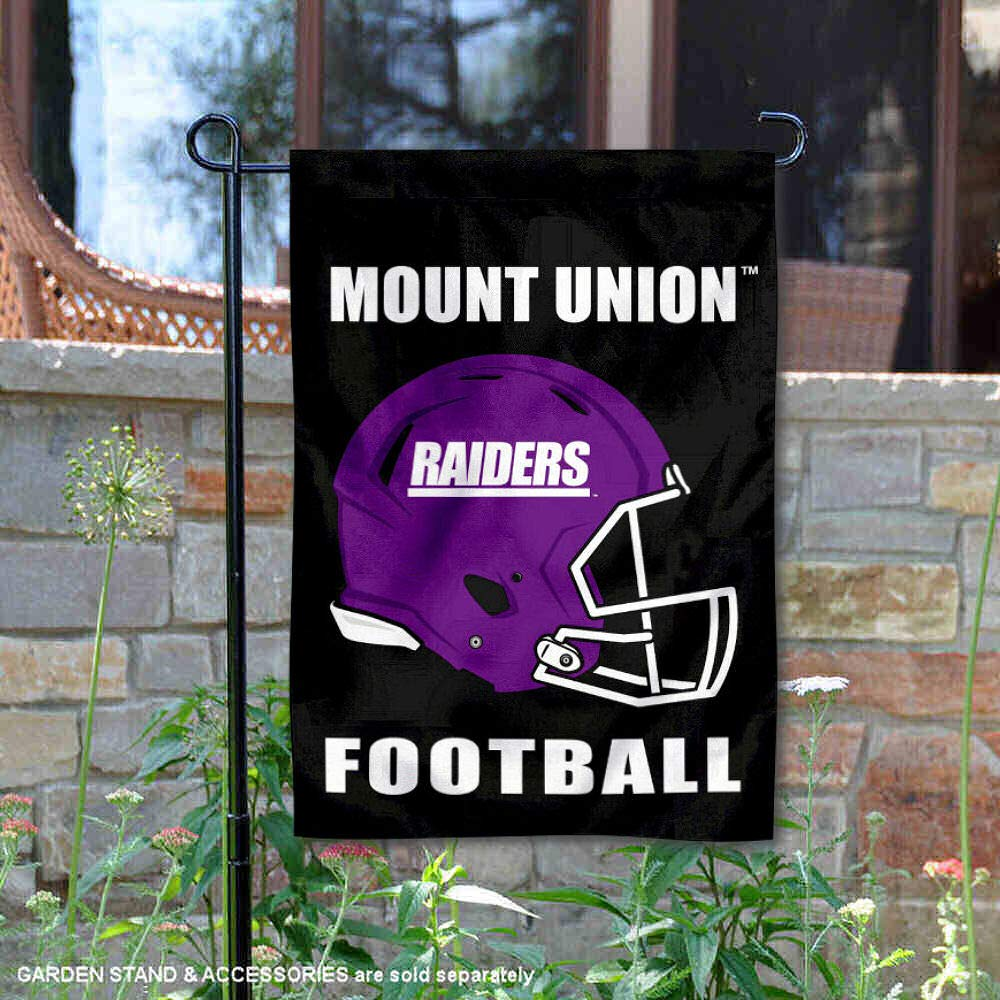 University of Mount Union Football Helmet Garden Flag College Flags and Banners Co
