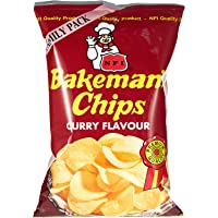 Bakeman's Potato Chips - Curry Flavor, 100 gm