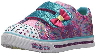 Skechers Sparkle Glitz Lil' Dazzle, Baskets bébé Fille