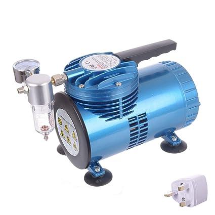 Compresor de aire portátil sin aceite de membrana de ...