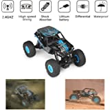 1 To 18 Electric Four-wheel Drive Snowmobile Wheel Model Remote Control Car g Kinderfahrzeuge
