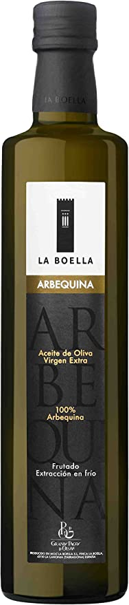 La Boella. Aceite de oliva arbequina, Caja de 6 botellas de 500 ml ...