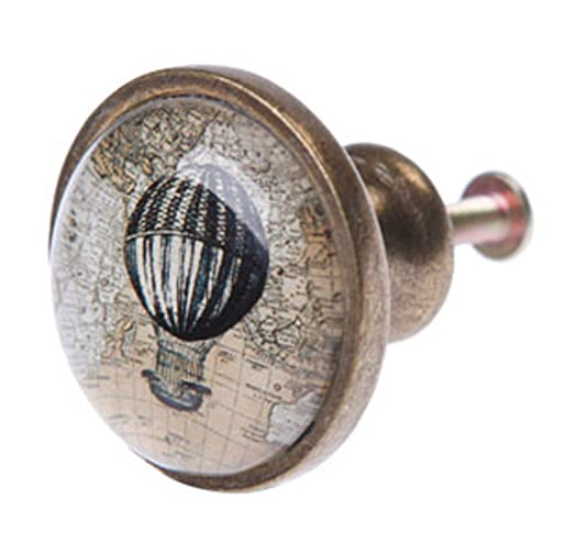 Hot Air Balloon Drawer Handle Vintage Style Door Knob Cupboard Pull By Orchard Lane Interiors
