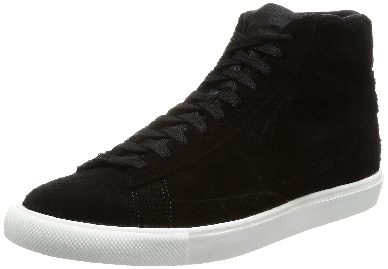 Nike Herren Blazer Mid Gymnastikschuhe  42 EU|Schwarz (Black/Black-summit White)