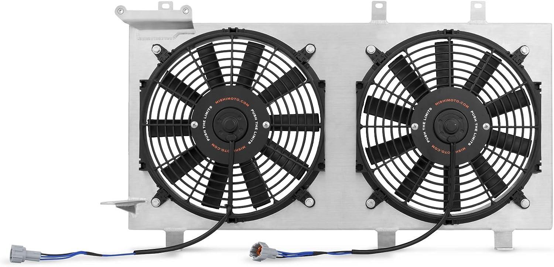 Mishimoto mmfs-wrx-01p rendimiento ventilador de aluminio cubierta Kit: Amazon.es: Coche y moto