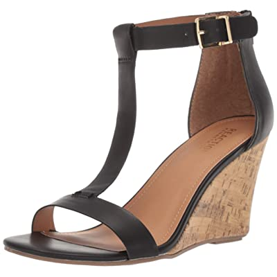 Kenneth Cole REACTION Women's Ava Great T-Strap Wedge Sandal | Platforms & Wedges