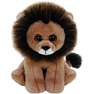 """Ty Beanie Babies 6"""" Cecil The Lion: Toys & Games"""