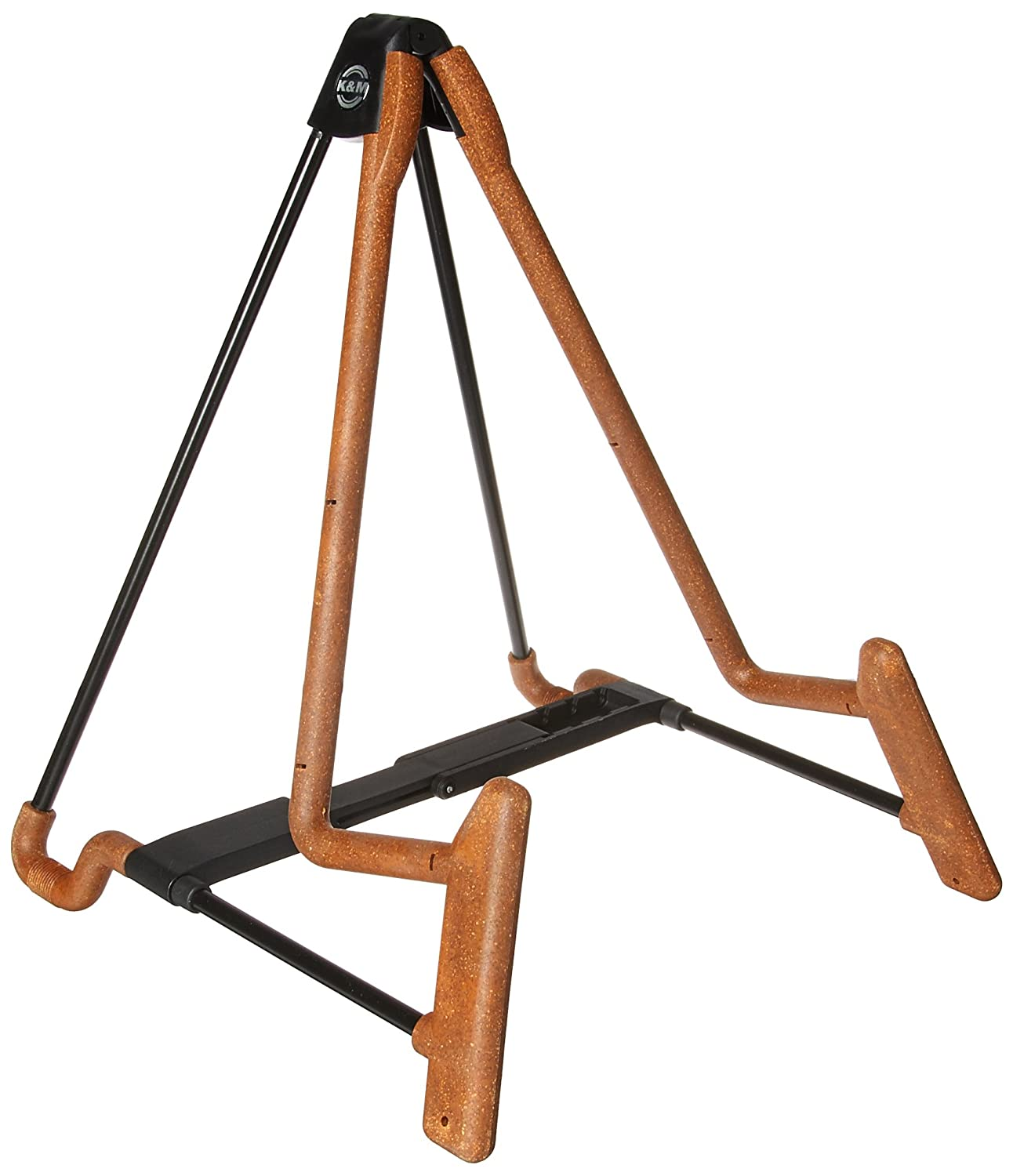 K&M Stands 17581C Heli 2 Electric Guitar Stand, Cork Connolly Music Company