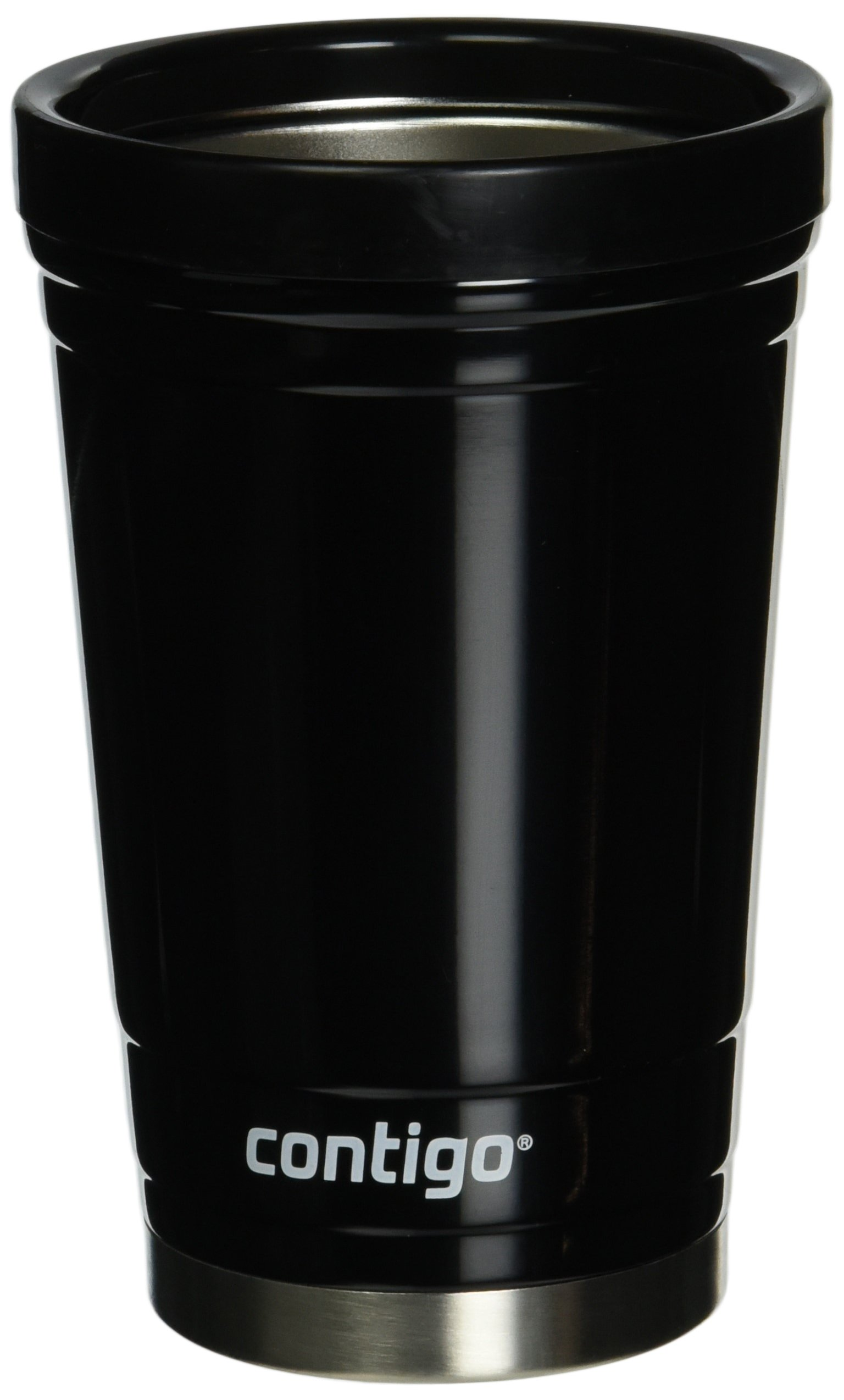 Contigo Party Cup, 16-Ounce, Stainless Steel, Doble Wall vaccum-Insulated, Black by Contigo
