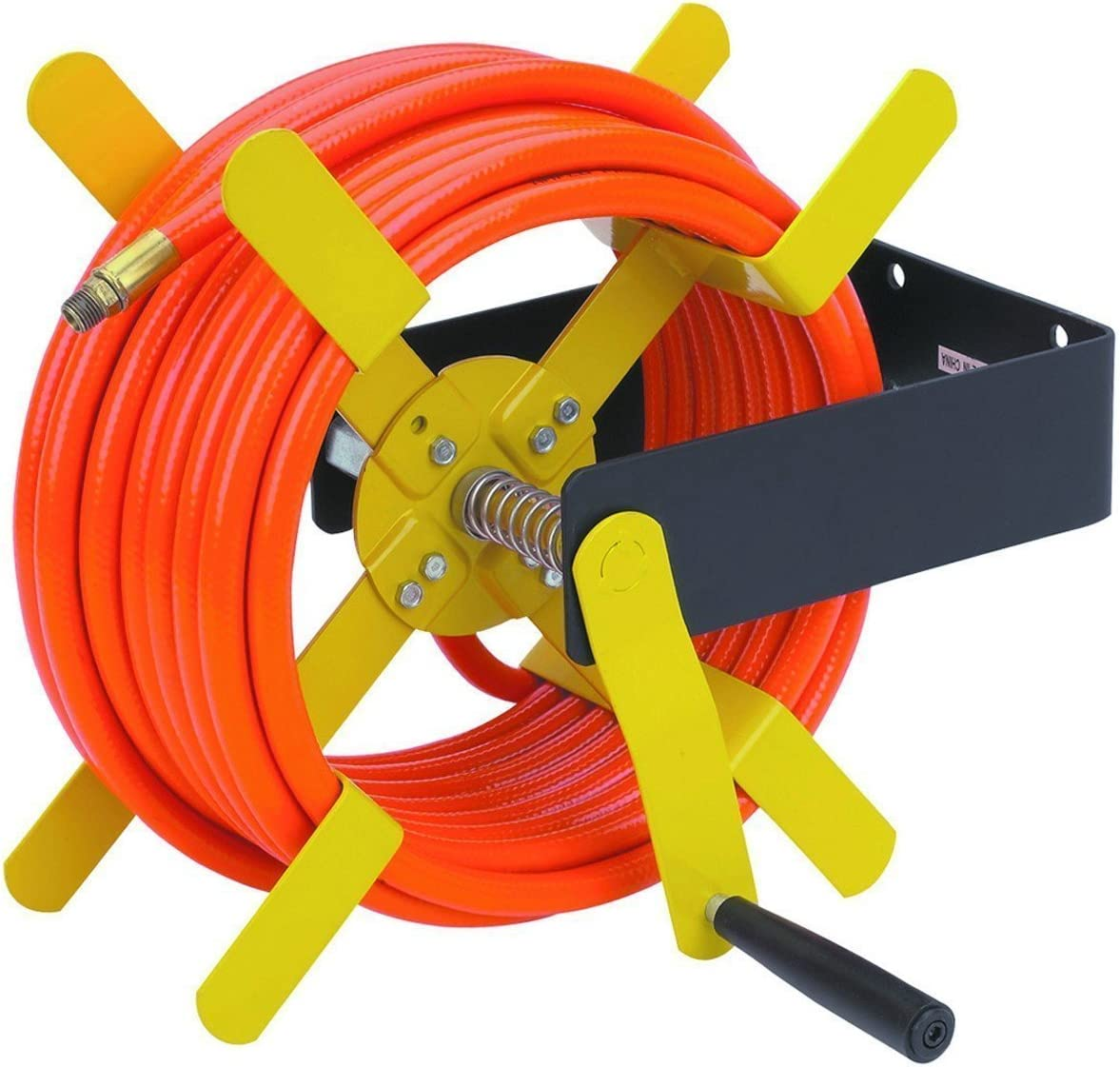 100 Ft Open Side Steel Air Hose Reel By Harbor Freight Tools Amazon Co Uk Diy Tools