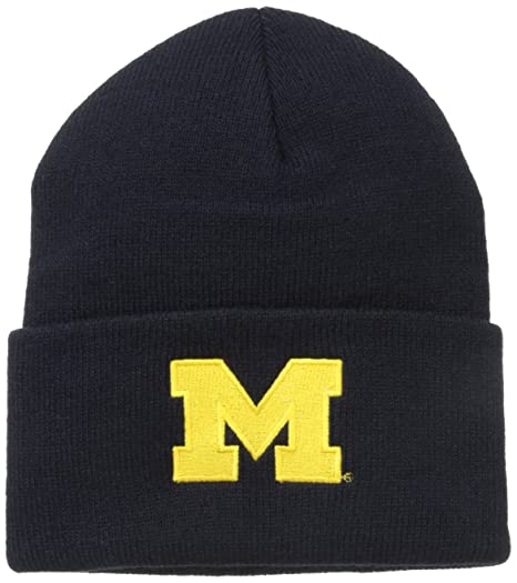 Amazon.com   NCAA Michigan Wolverines Acrylic Watch Hat 021bab729edd