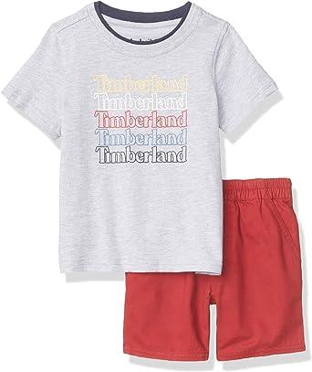 firma Hectáreas Sede  Timberland Baby Boys' Shorts Set: Amazon.co.uk: Clothing
