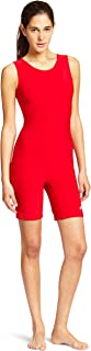 ASICS Women's Women's Solid Modified Singlet, Red, Small