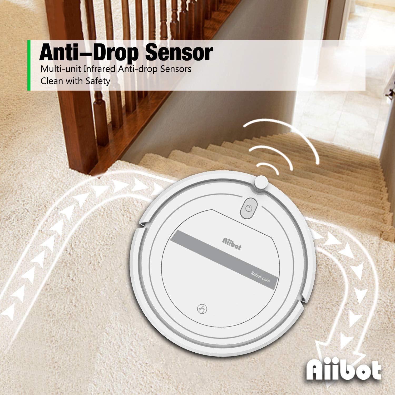 Aiibot SAUGROBOTER ASPIRAPOLVERE ROBOT anti-drop per aspirapolvere robot per capelli Animali