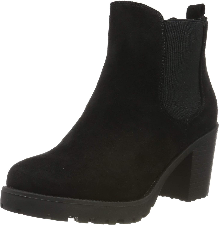 Stiefelparadies Femme Bottillon Boots Chelsea Semelle de Profil