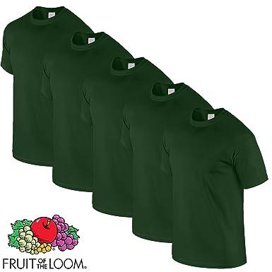 Fruit of the Loom T-Shirts 5er Pack-Original Full Cut-T