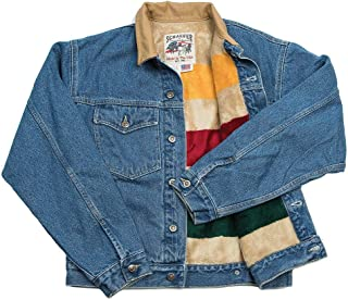 product image for Schaefer Outfitters 583 Legend Denim Jacket with Fleece Blanket Lining   Fashion Clothing for Men, Casual Outfit   Partner with Jeans, Sneakers, Boots