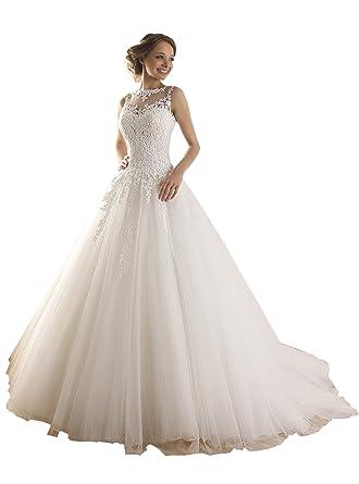 Brautkleid spitze nahen