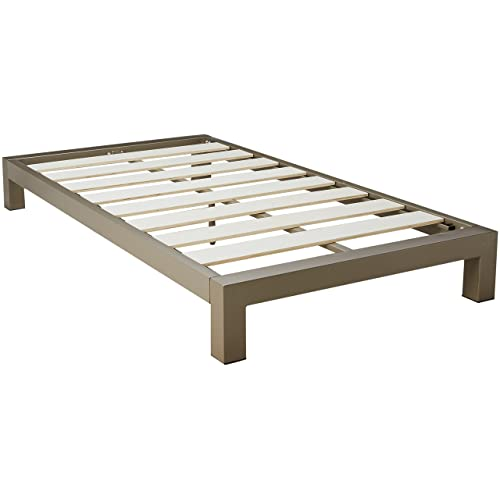 Twin Bed Frame Dimensions Amazon Com