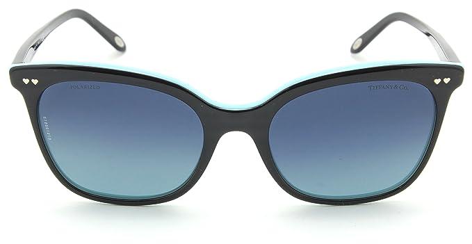 4264e65bba Tiffany   Co. TF 4140 Women Square Gradient Sunglasses (Black Blue Gradient  80554U