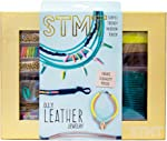 STMT DIY Leather Jewelry Kit by Horizon Group Usa, Create 5