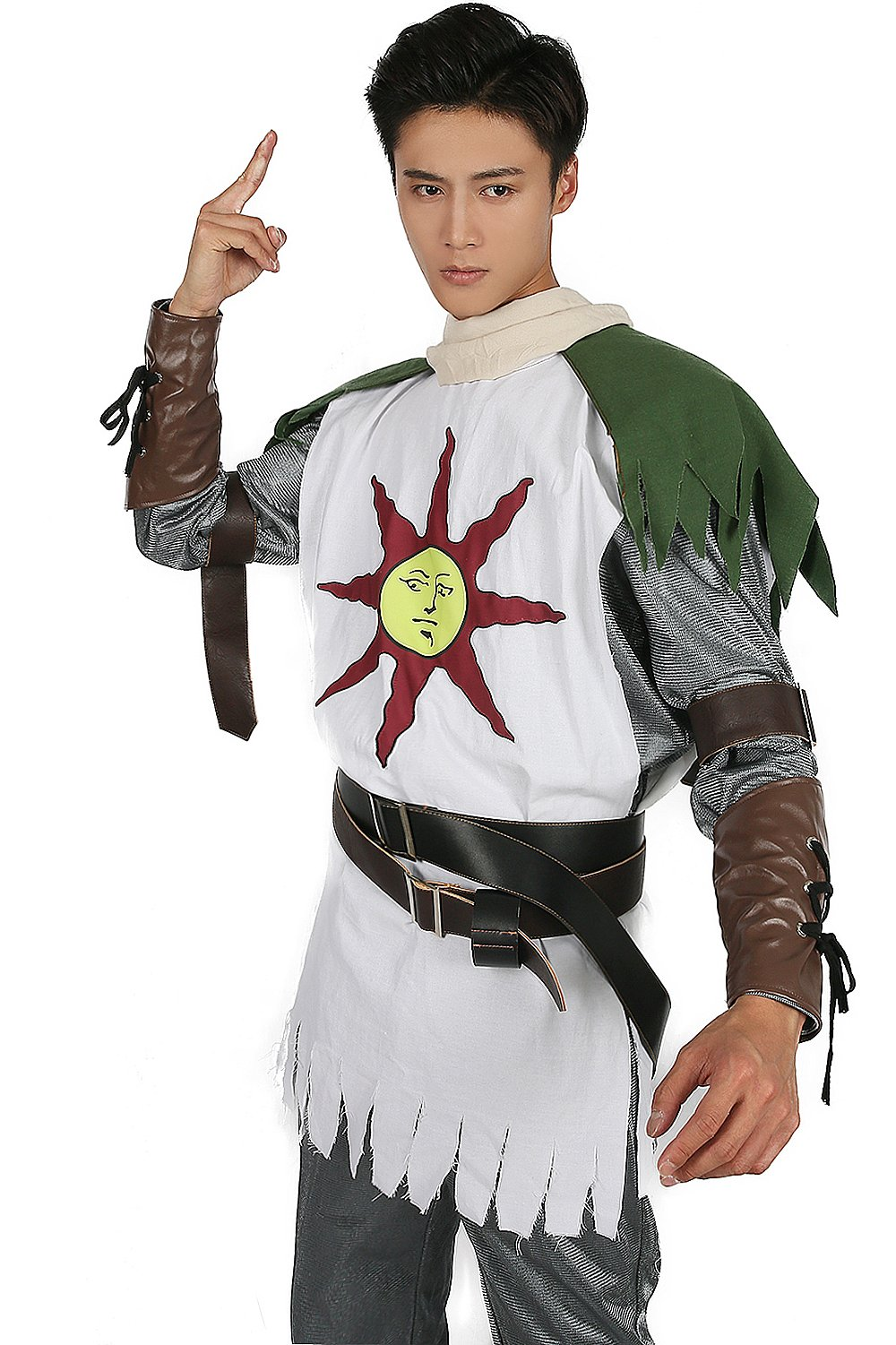 Solaire Costume Sun Warrior Outfit for Halloween Cosplay L by xcostume (Image #5)