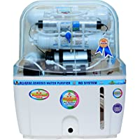 R.K. Aqua Fresh India 15-Liters RO+UV+UF+TDS Adjuster Water Purifier (White)