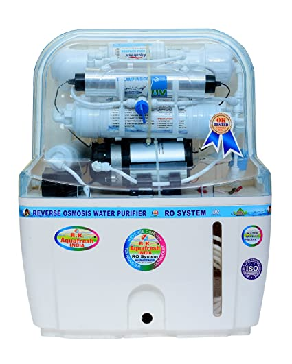 RK Aqua Fresh India 15-Liters RO+UV+UF+TDS Adjuster Water Purifier (White)