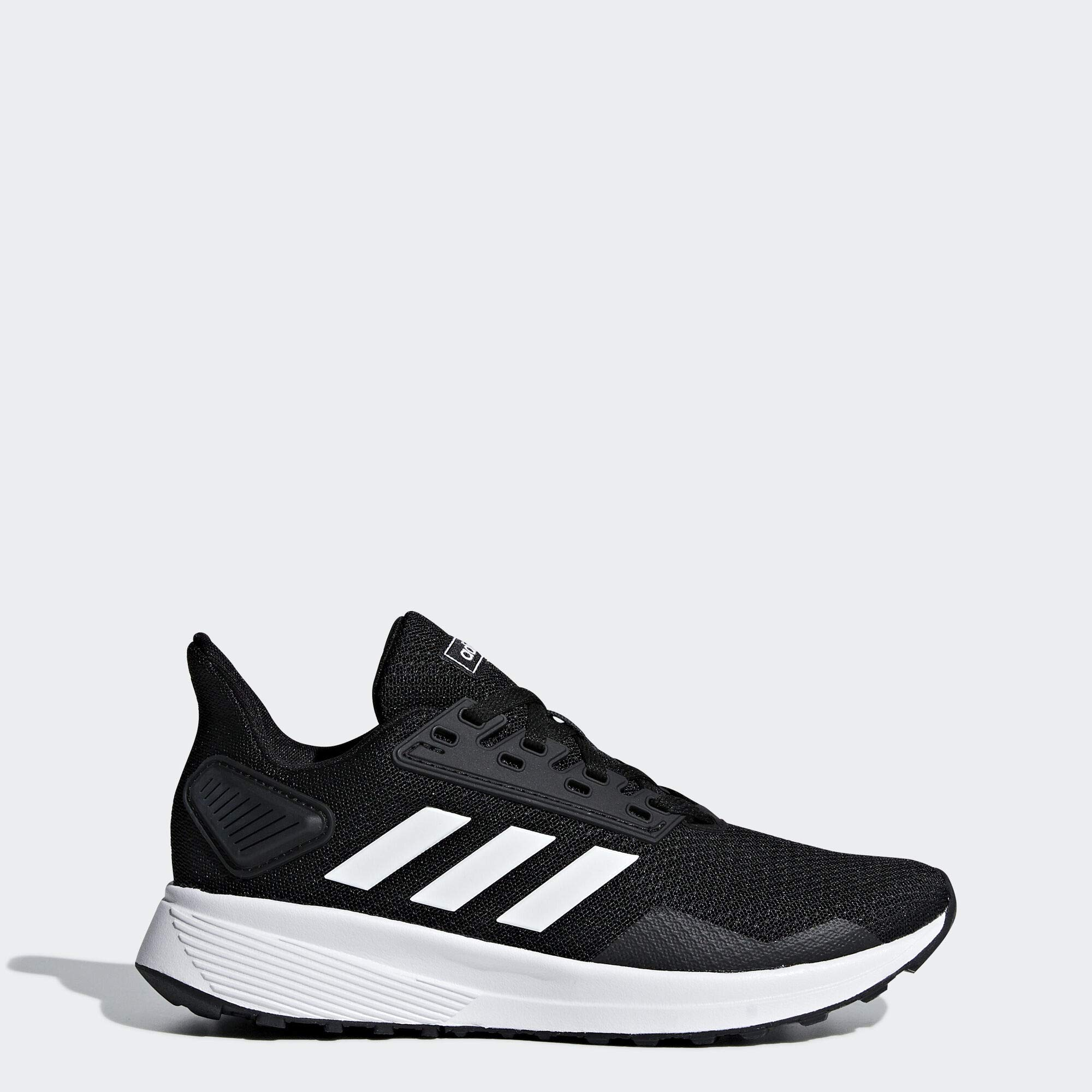 adidas Unisex Duramo 9 Running Shoe White/Black, 11.5 M US Little Kid by adidas