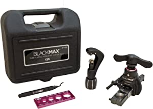 CPS BlackMAX BFT850K Lightweight R-410A Clutch-Type Ecentric Flaring Tool Kit with Flare Size Gauge, Cutter and Deburring Tool