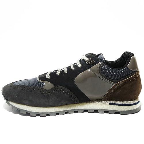 Made Sneakers 318566 Art Italy in Brimarts Grigio Uomo Pelle Amazon wgqTTI e0d39f3b86c