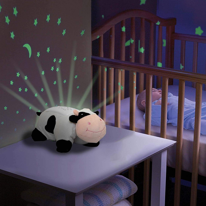 HSP Himoto - Proiettore 2 in 1, Luce Notturna e Cielo Stellato, per cameretta dei Bambini, 3 possibili luci LED a Colori (Blu, Rosso e Verde), Regolabile, Funzione Auto off e Molte Altre funzioni starlight buddy' s
