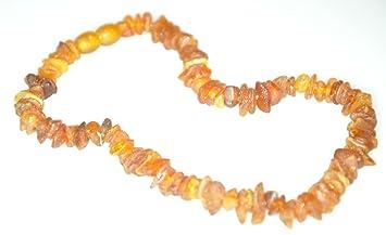 Amazon Com Raw Amber Teething Necklace Baby Healing Amber