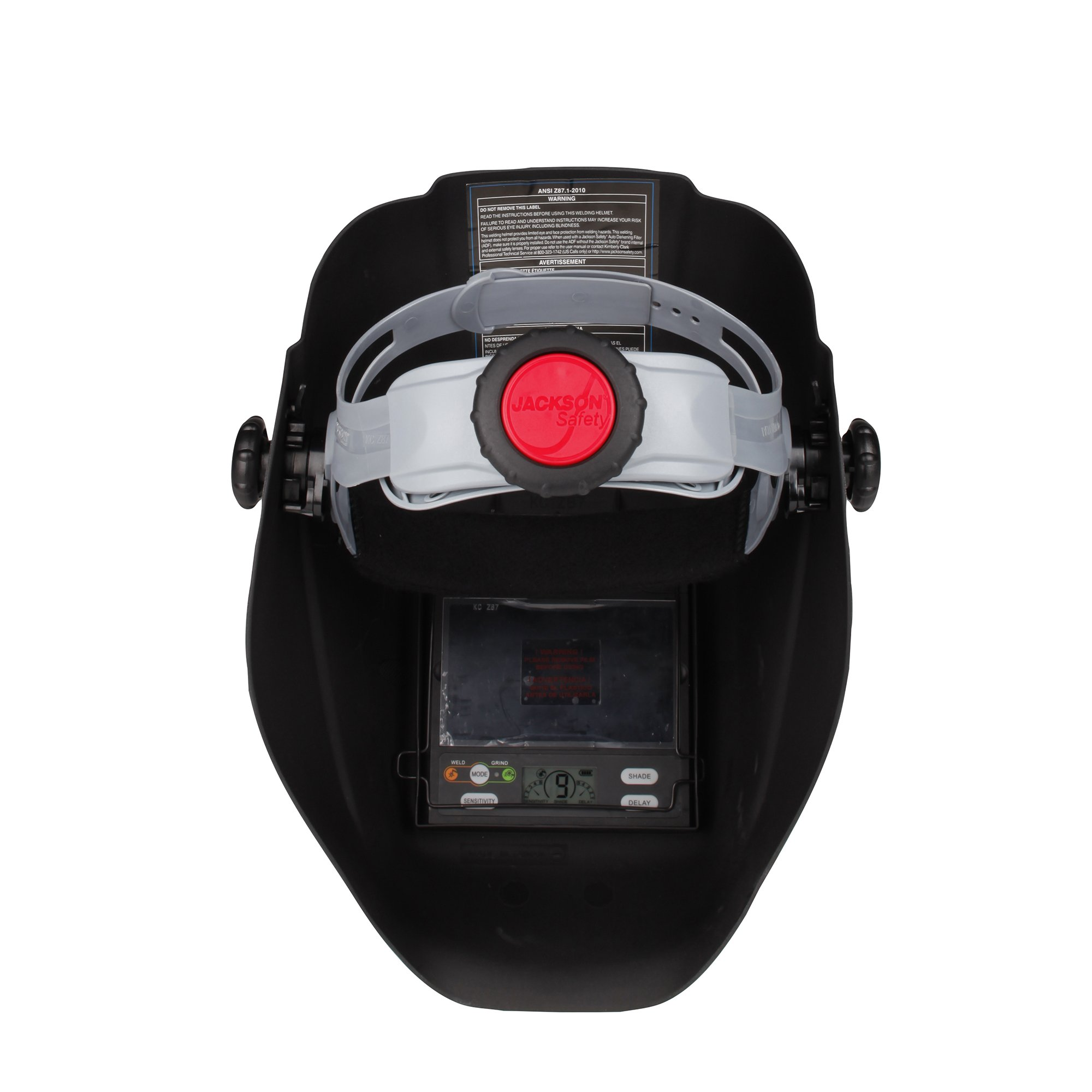 Jackson Safety Insight Variable Auto Darkening Welding Helmet, HaloX (46130), Arc Angel, 1 Helmet / Order by Jackson Safety (Image #5)