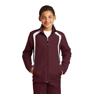 Sport-Tek Boys Colorblock Raglan Jacket