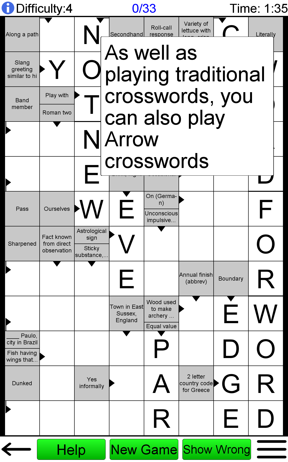 Amazon Com Crossword Unlimited Appstore For Android
