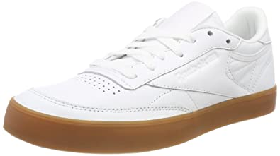f3d4949660d9 Amazon.com  Reebok Women s Club C 85 FVS Hi-Top Trainers ...