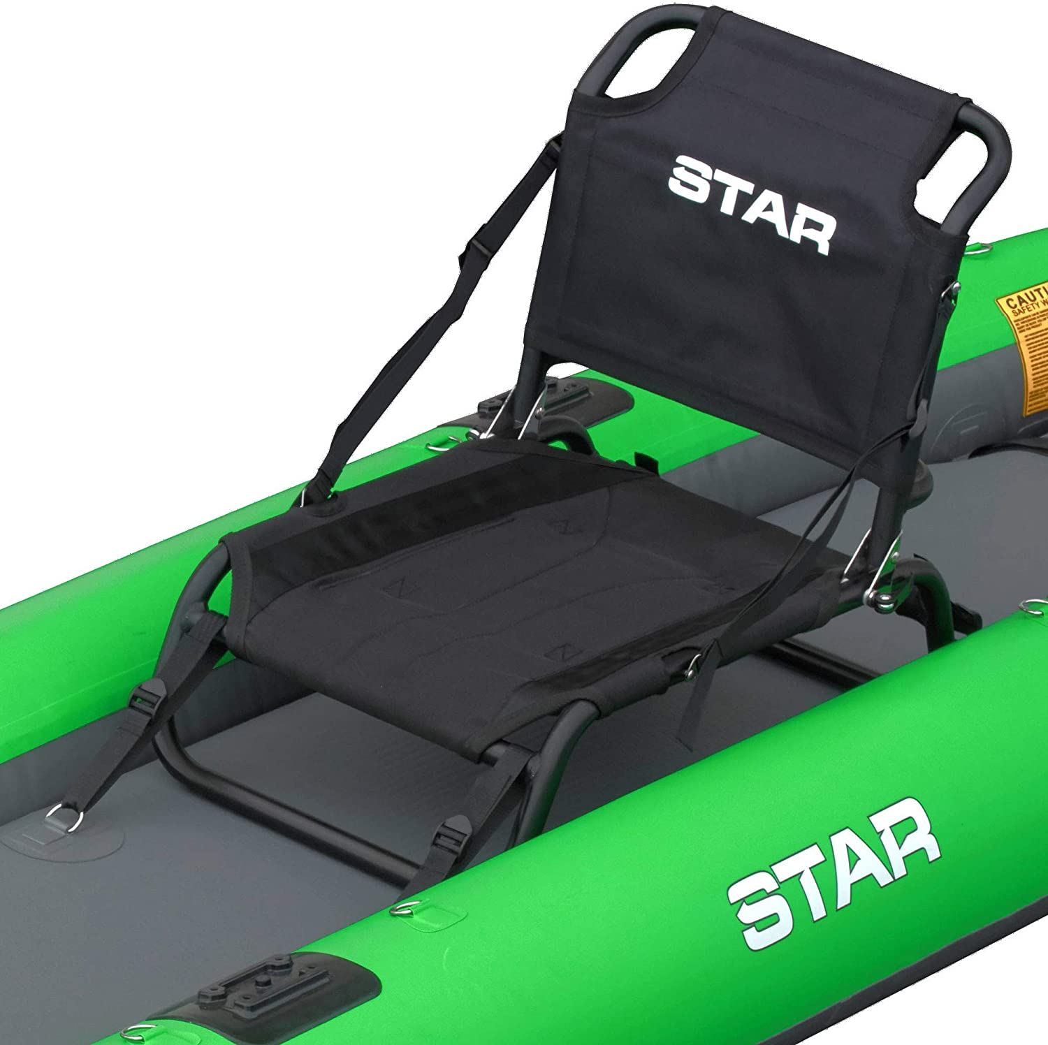 Amazon.com: NRS Star - Asiento de pesca para Kayak hinchable ...