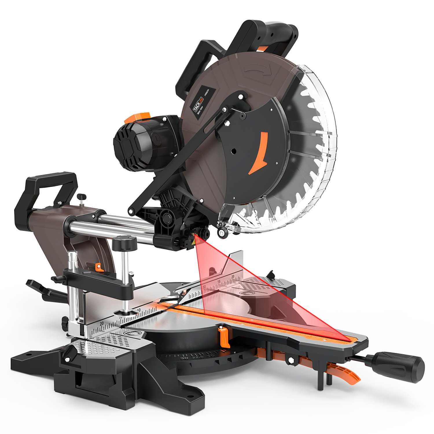 7. TACKLIFE PMS03A Double Bevel Compound Miter Saw
