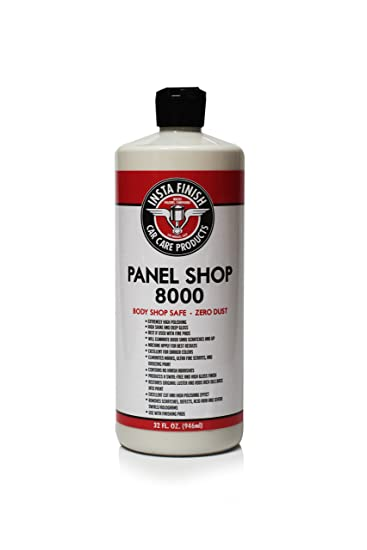 Safe Auto Customer Service >> Insta Finish Panel Shop 8000 Body Shop Safe Auto Polish Zero Dust 32oz