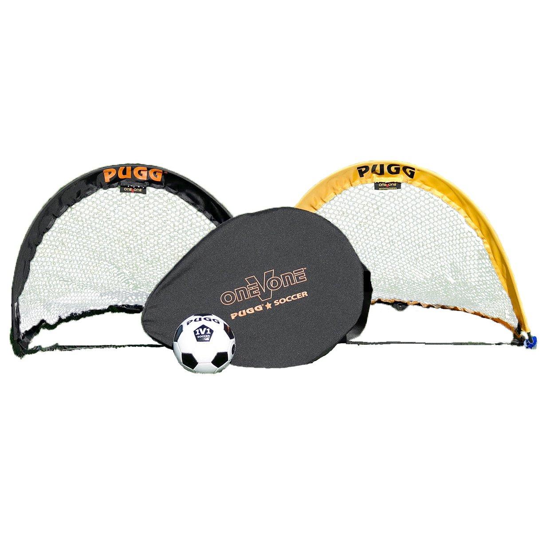 PUGG 2.5 Footer Portable Training Goal Set Two Goals, Bag, /& Ball