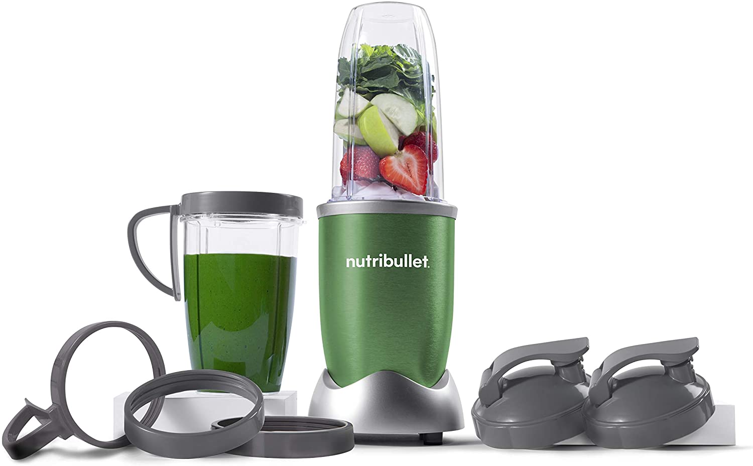 NutriBullet NB9-1301G Pro 13 Pcs Clover Green, 900W