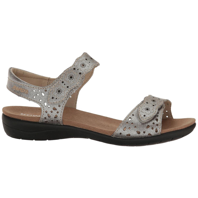 Romika Womens Tahiti 03 Leather Sandals 37 EU|Platinum