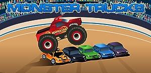 Monster Trucks game for Kids from Raz Mobi