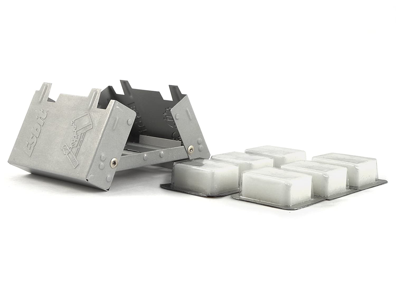 Amazon.com : Esbit Ultralight Folding Pocket Stove with Six 14g ...
