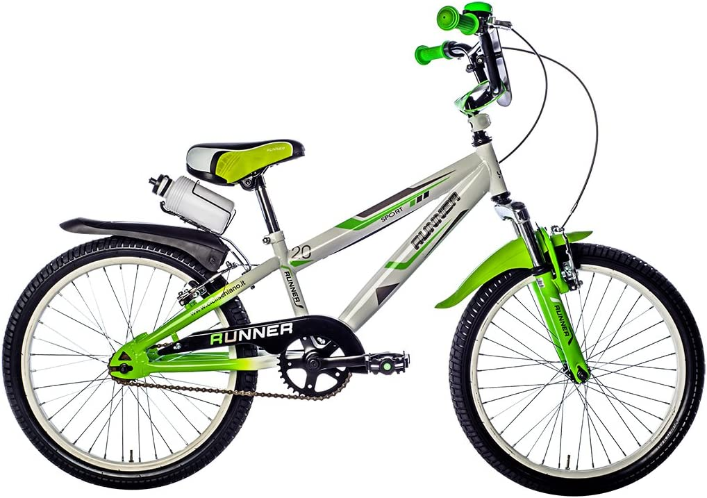Schiano - Bicicleta Niño 16 Pulgadas Runner con Ruedas Extraibles ...